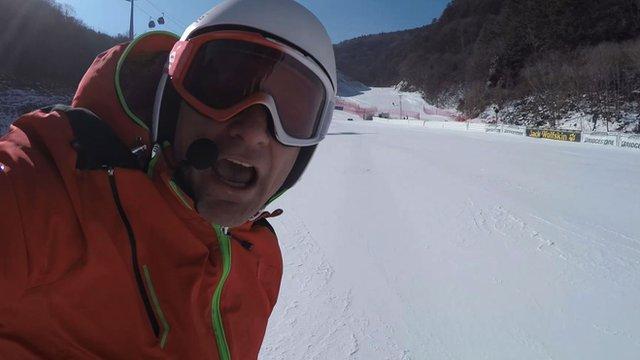 Ski Sunday's Graham Bell
