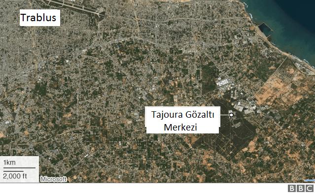 Tajoura Gözaltı Merkezi