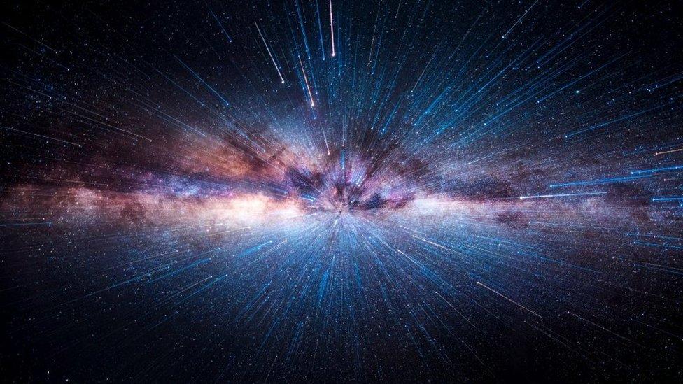 Galaksi Bimasakit dilihat dari gurun Atacama, Chile utara.