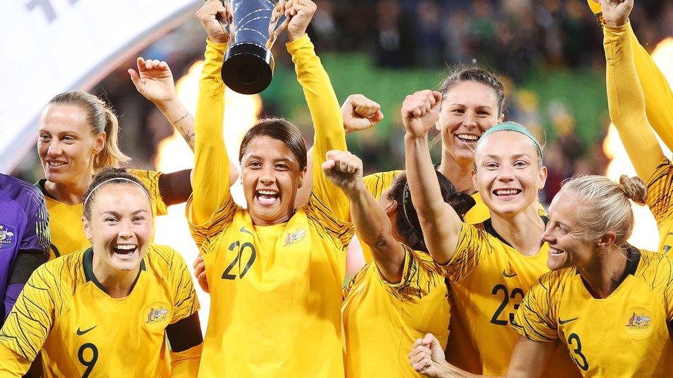 Matildas: Australia women's football team in landmark pay ...