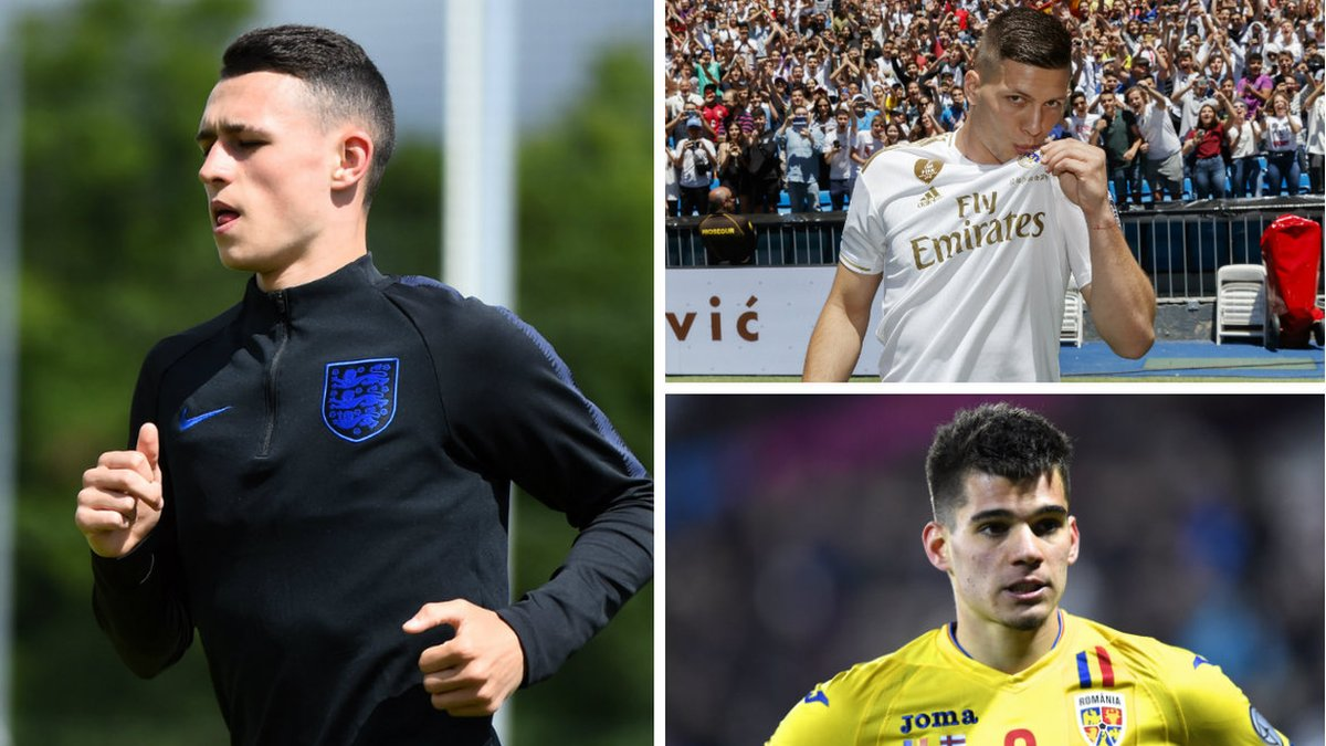 European Under-21 Championship potential stars: Moise Kean, Phil Foden, Pablo Fornals, Luka Jovic