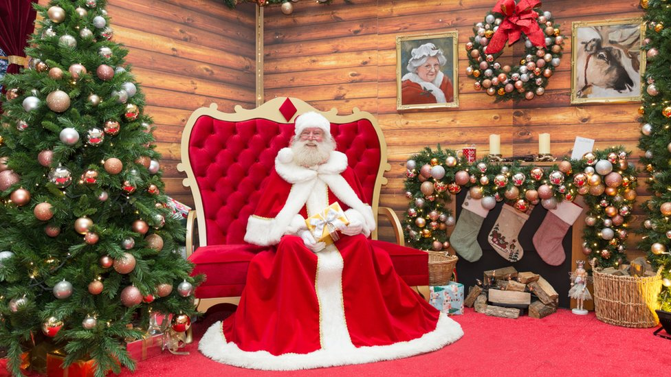 Christmas 2020 Will Santa Have To Social Distance Bbc News