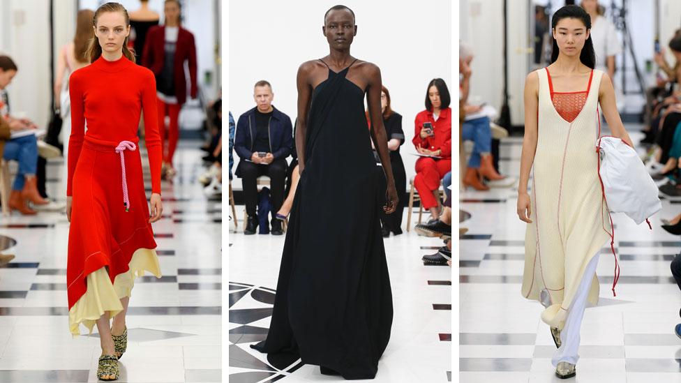 Victoria Beckham makes London Fashion Week debut