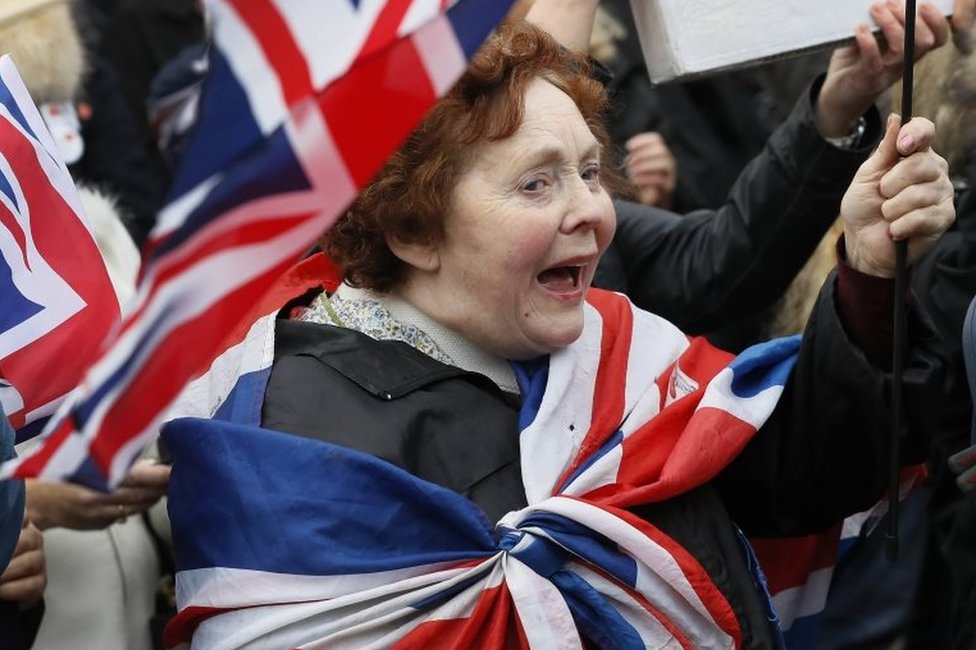 Brexit victory rally