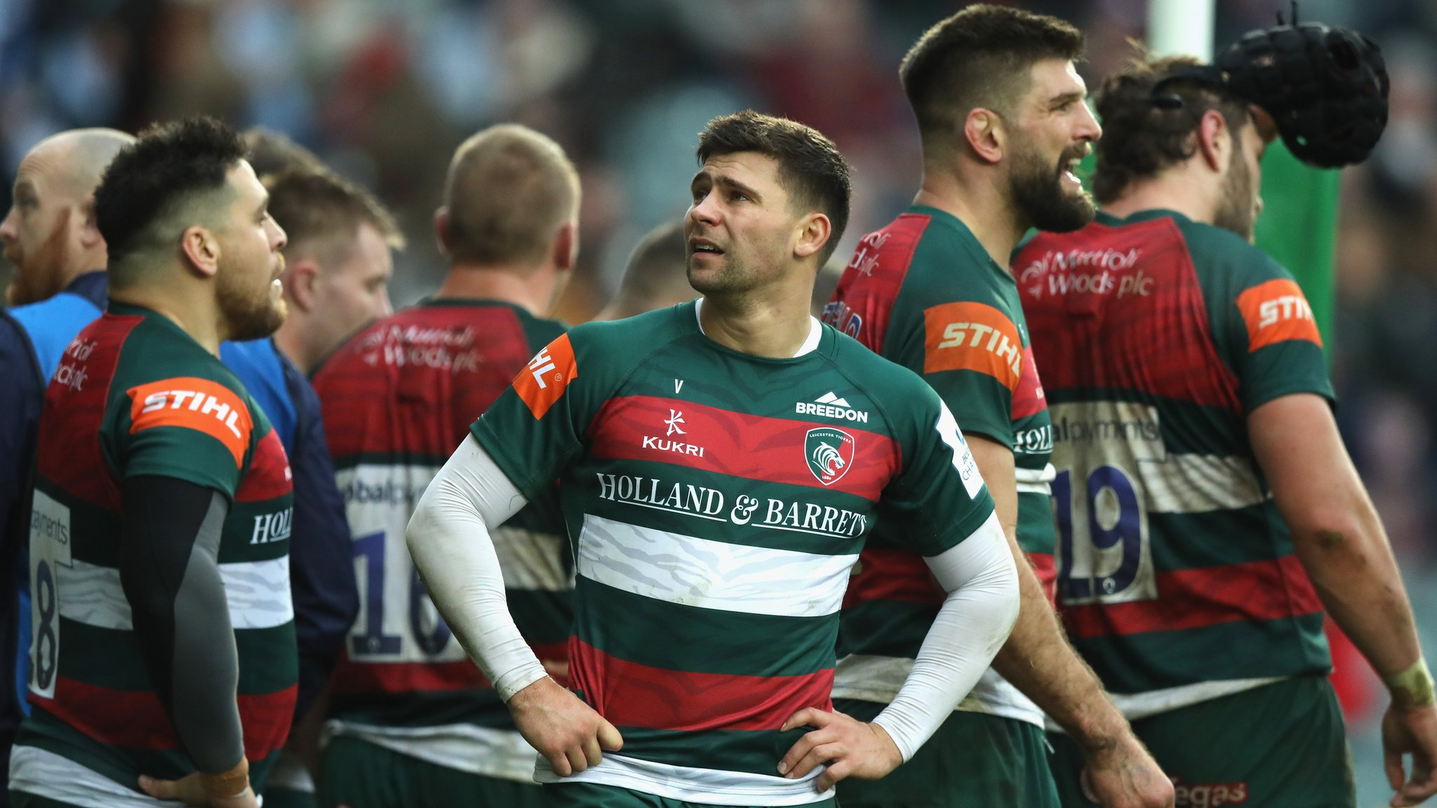 European Rugby Champions Cup: Leicester Tigers 11-34 Racing 92
