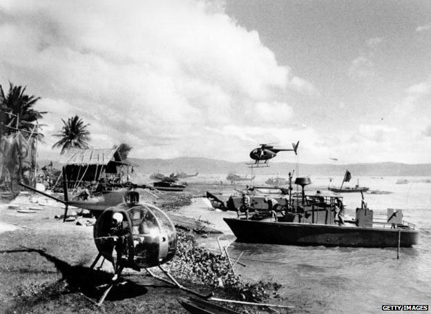 Filming Apocalypse Now at Baler beach in the Philippines