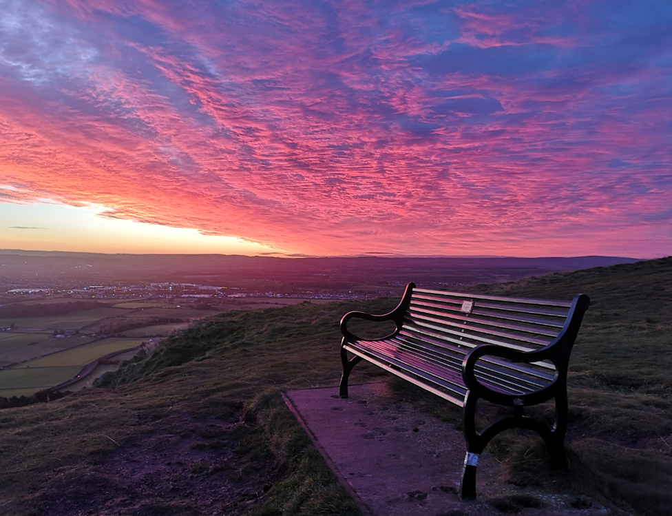 """Running in the Caerketton and Allermuir hills was """"well worth the early start"""" for Stewart Whitlie from Edinburgh,"""