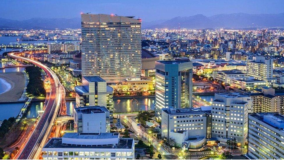 المدينة الأكثر تطورا في اليابان - BBC News عربي