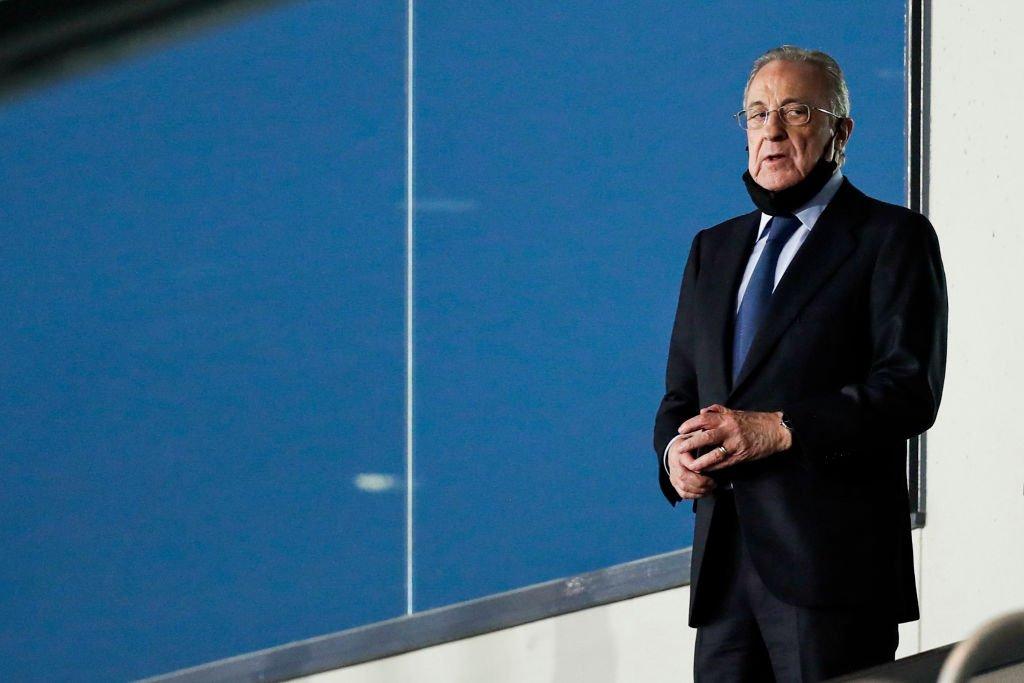 Real Madrid Başkanı Florentino Perez