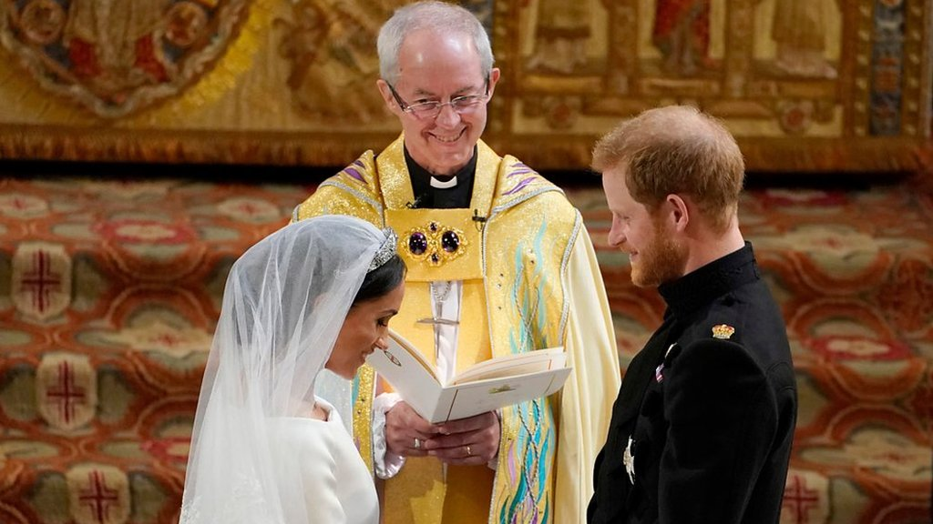Royal wedding 2018: 'Harry I give you this ring'