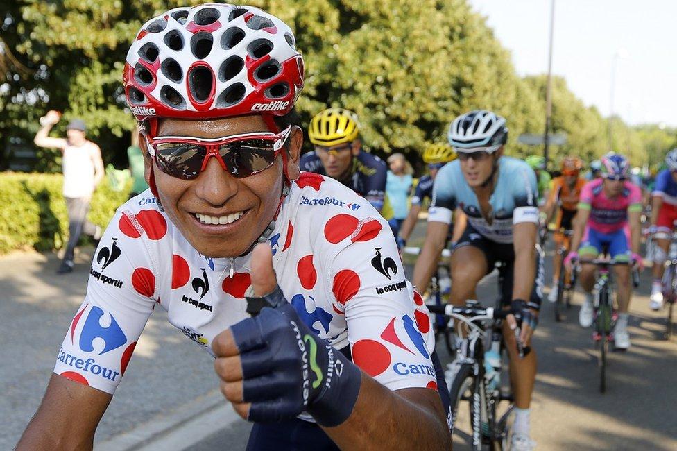 El ciclista colombiano Nairo Quintana fue coronado como Rey de las Montañas en 2013.