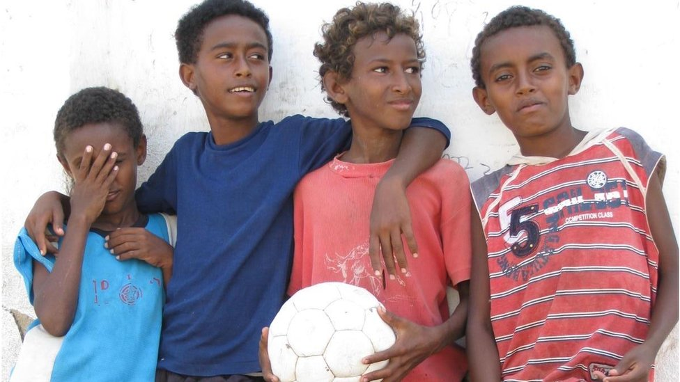 Young boys in Massawa