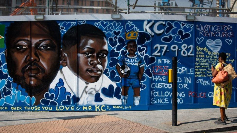 Kevin Clarke mural