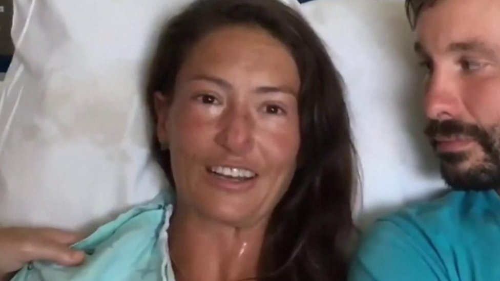 Rescued hiker: 'It came down to life and death and I had to choose'