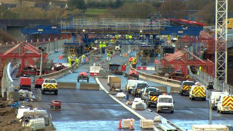 Aberdeen bypass work