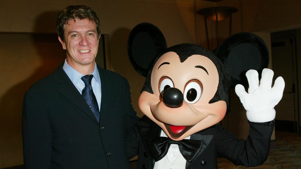 Mooney y Mickey Mouse