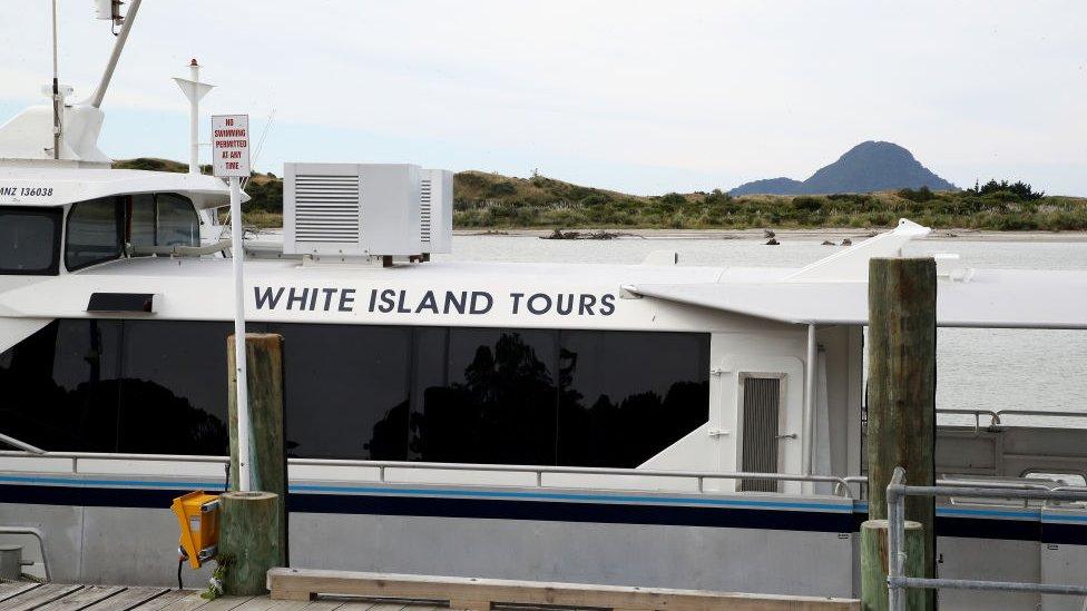 White Tours en la bahía.
