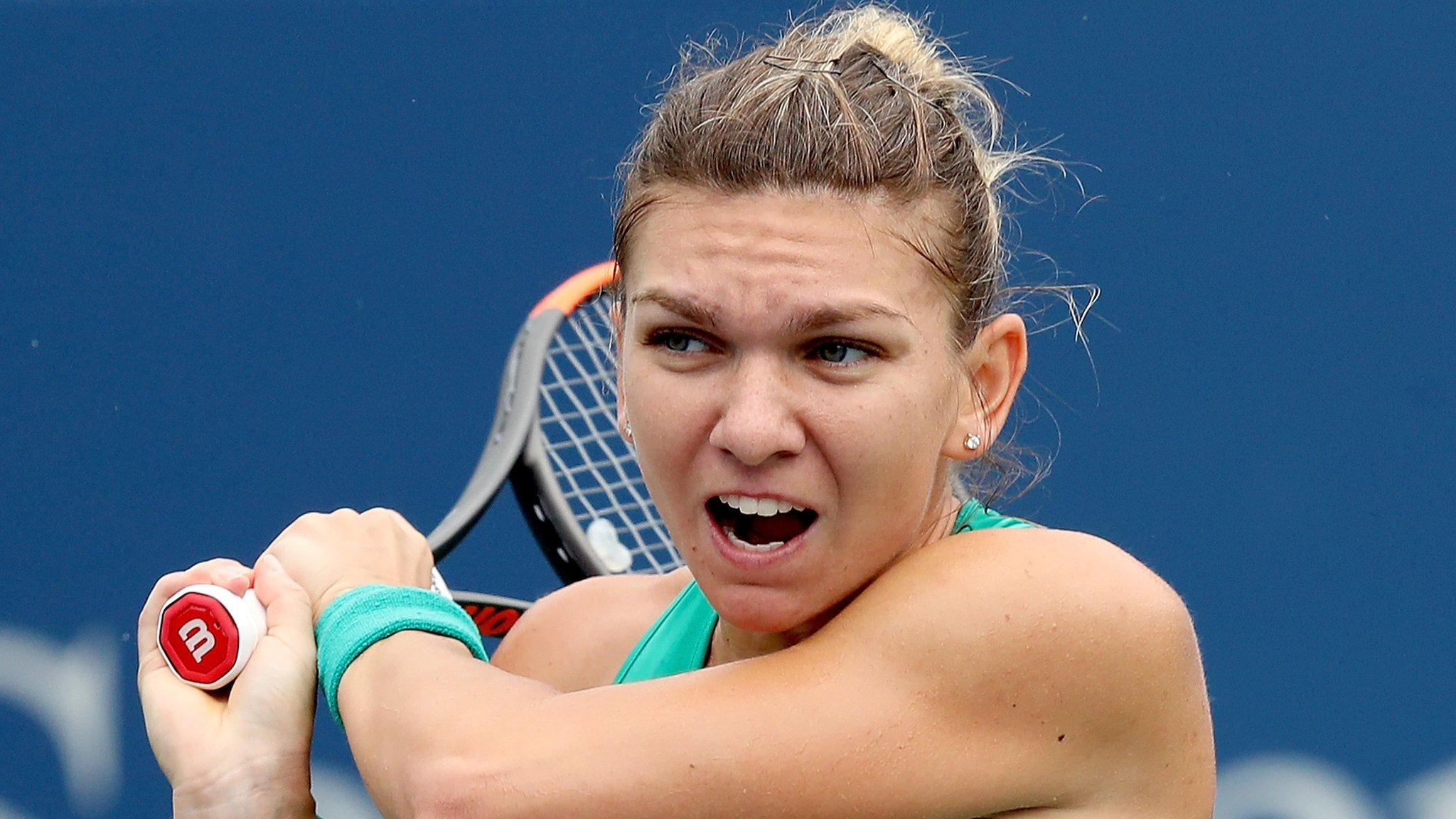 Halep & Djokovic reach quarter-finals - but must play twice in a day