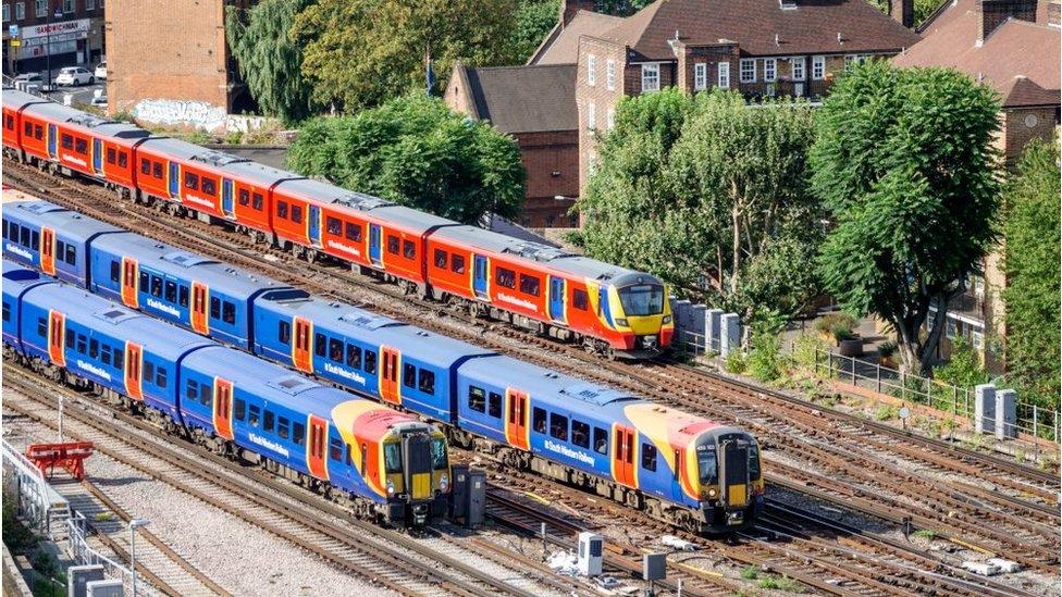 South Western Railway trains