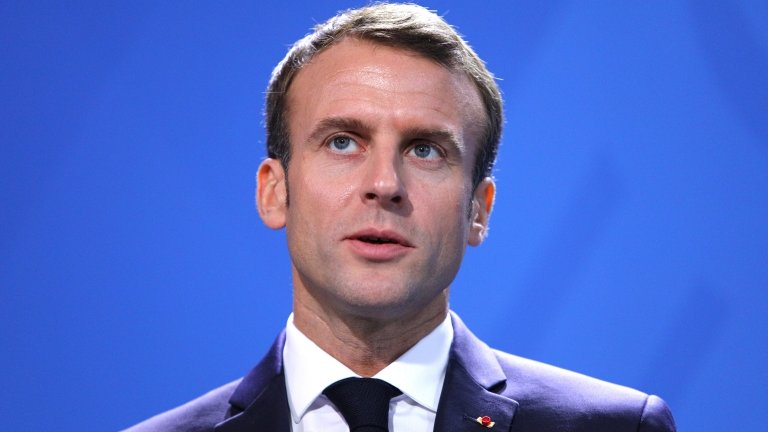 France's Macron: Europe must unite to prevent 'global chaos'