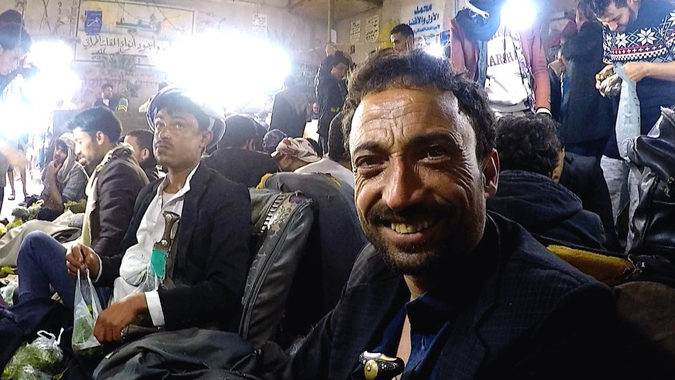 Un mercado en Yemen