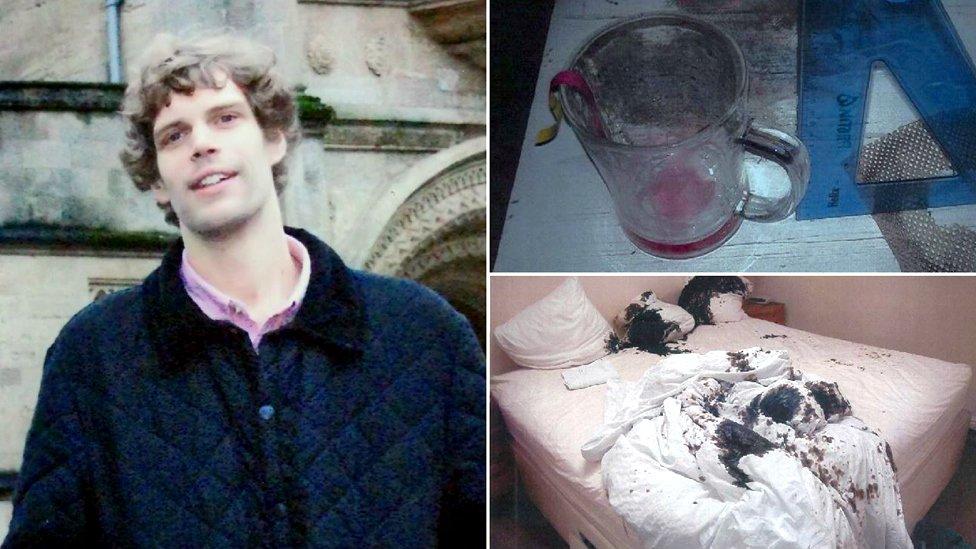 Mark van Dongen acid attack: 'I realised his skin was melting'