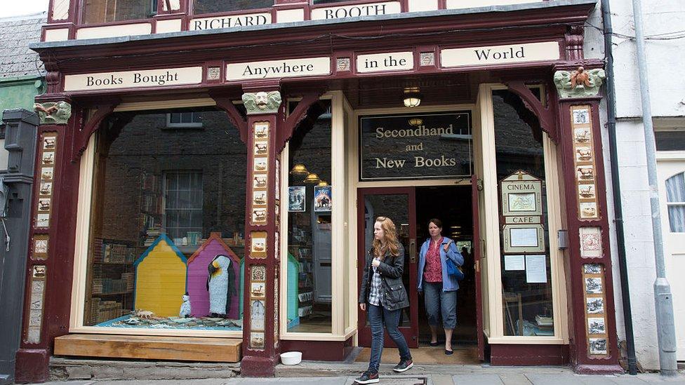 Richard Booths' Bookshop in Hay on Wye