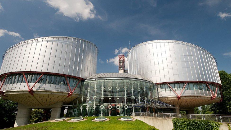 Gedung Pengadilan HAM Eropa
