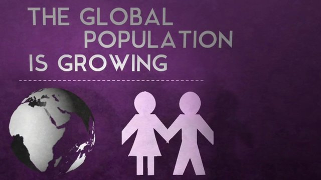 The global population is growing