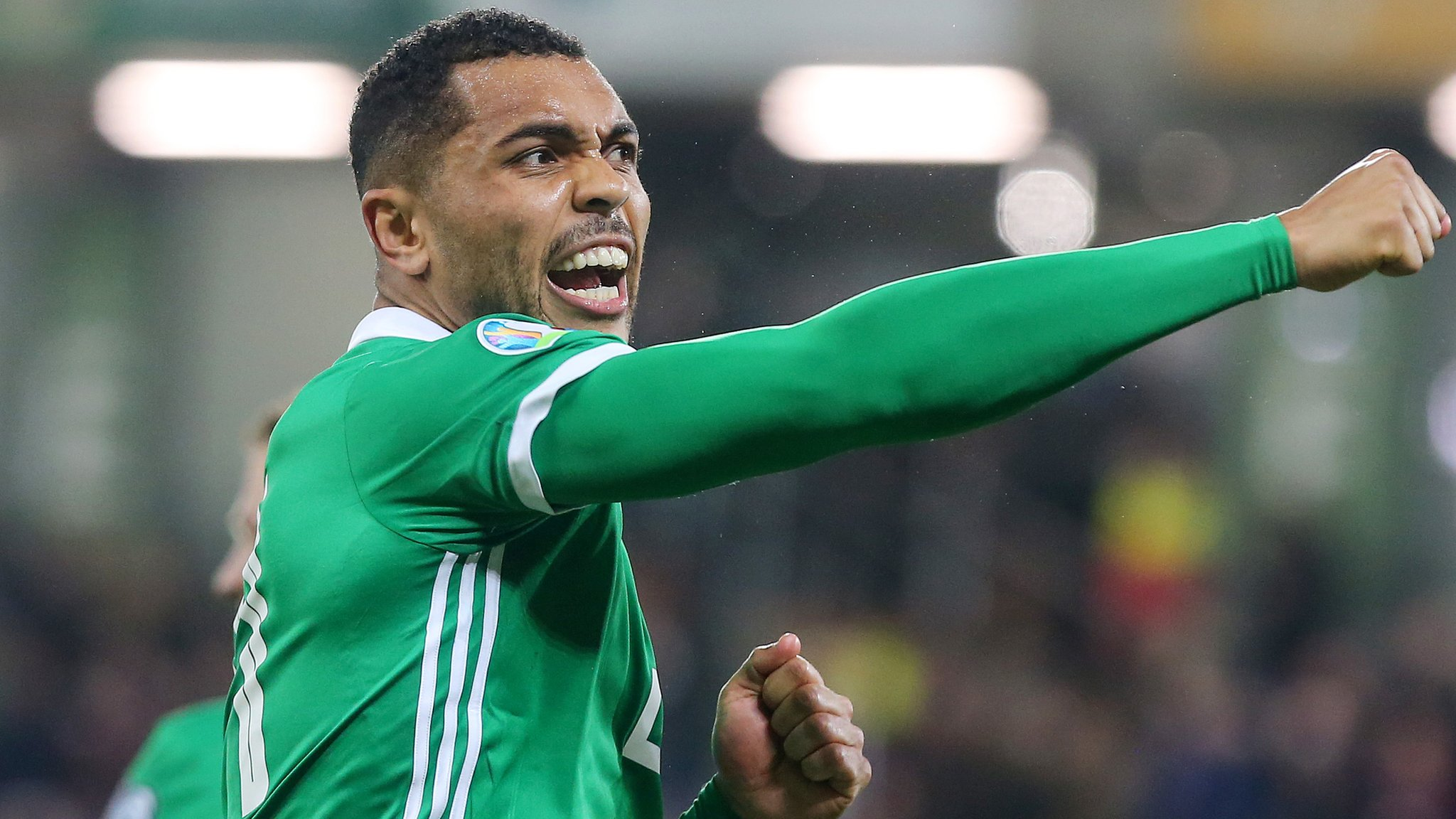 Euro 2020 qualifiers: Josh Magennis says NI can pip Germany or Dutch in group