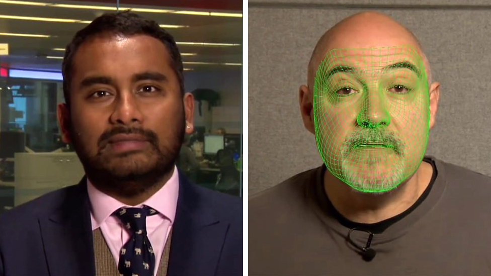 The face-mapping technology raising fears about fake news