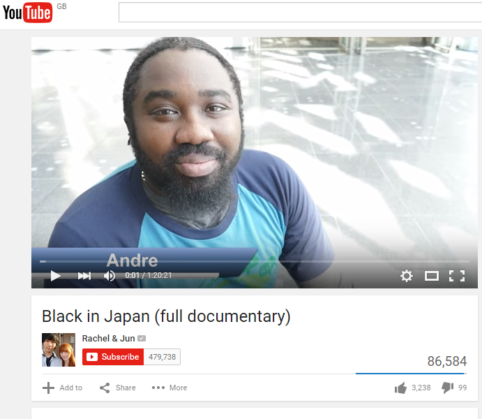 The documentary features several black immigrants talking frankly about their experiences - including Andre Cunningham, an English teacher from Jamaica