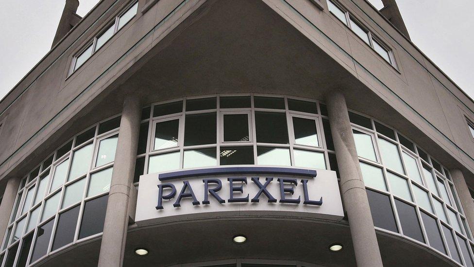 Paraxel's building in Uxbridge