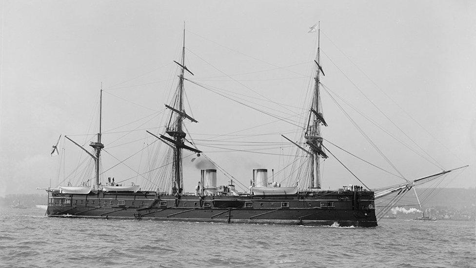 На дні Японського моря знайшли російський крейсер часів Цусімської битви