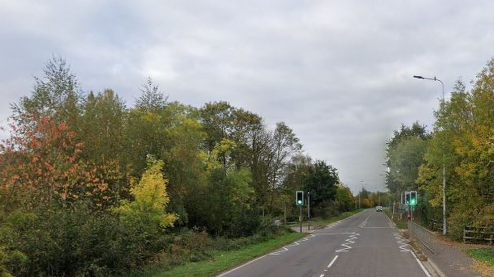 Oundle Road in Peterborough