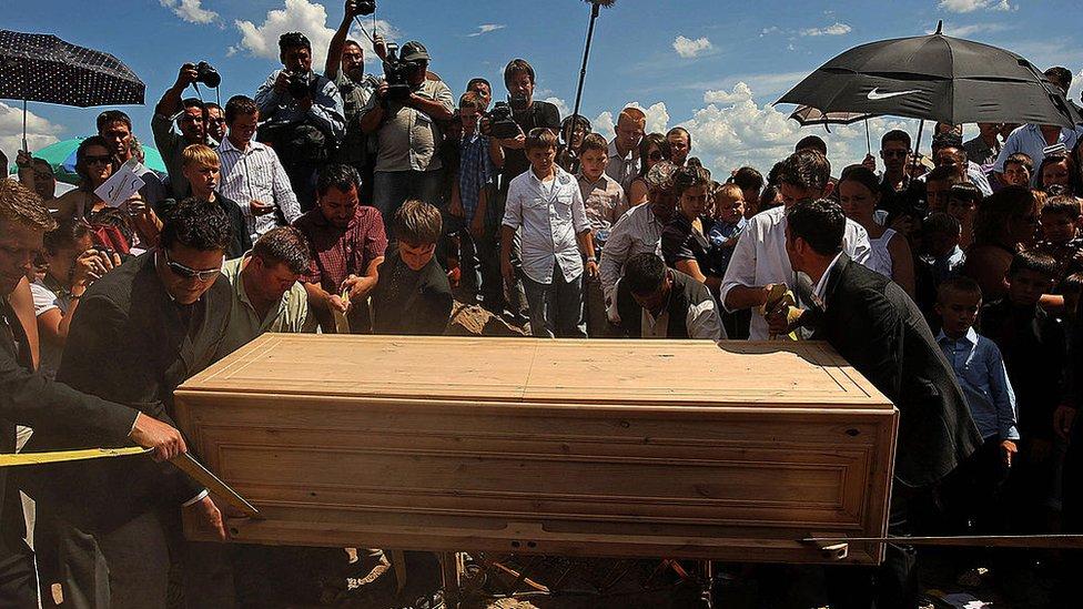 funeral de Le Barón