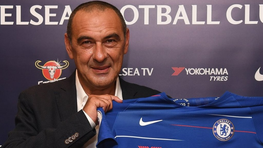 Maurizio Sarri: Chelsea name ex-Napoli boss as Antonio Conte's successor