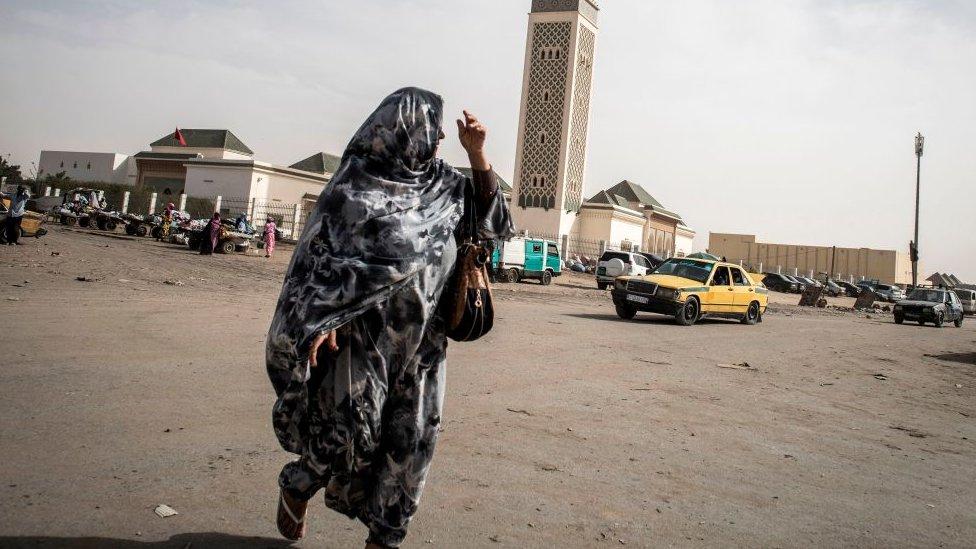 Mujer en Mauritania.