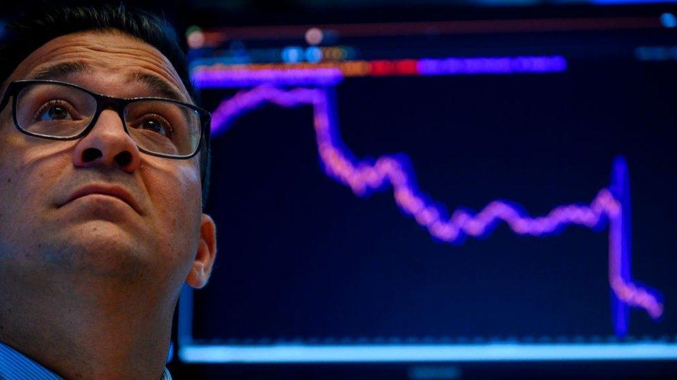 Operados de bolsa en Wall Street