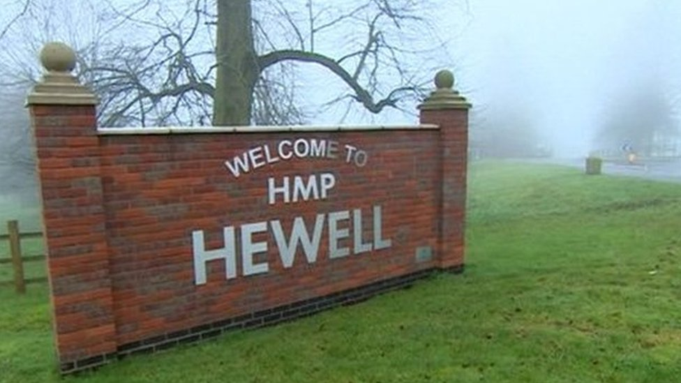 HMP Hewell prisoner killed inmate with 'single punch'