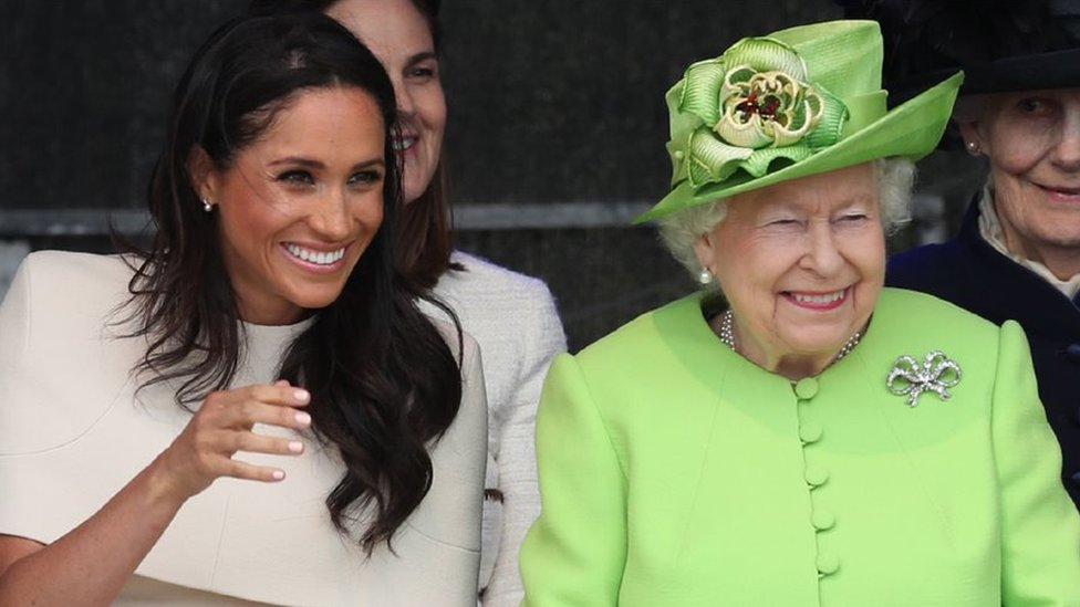 Queen and Meghan visit Cheshire on first joint trip
