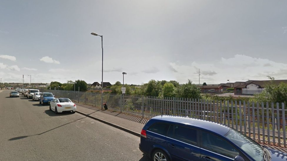 Man dies after Larkhall station car crash