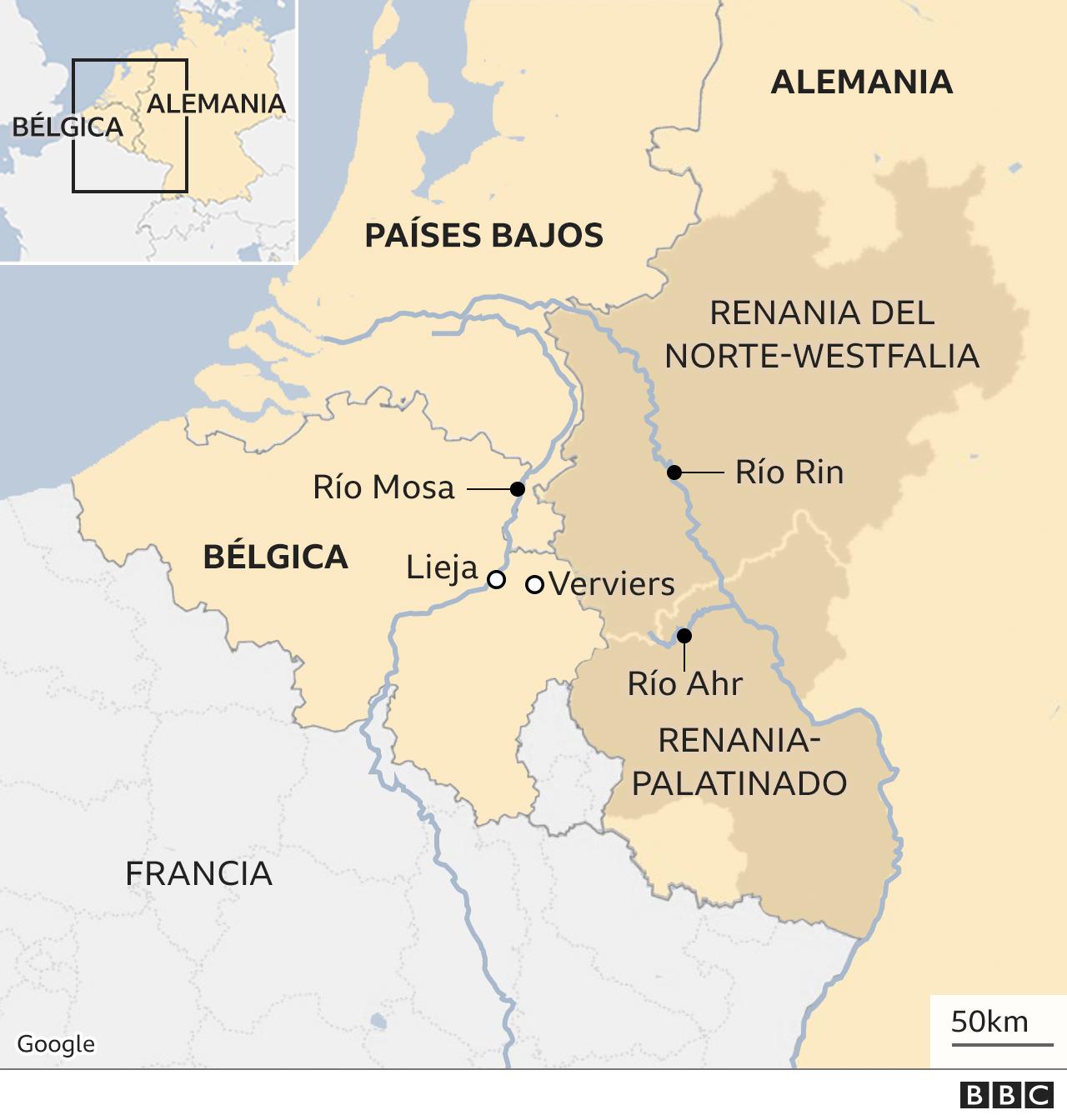 Mapa Europa.