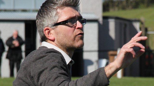 Ratthfriland manager Clifford Sterritt
