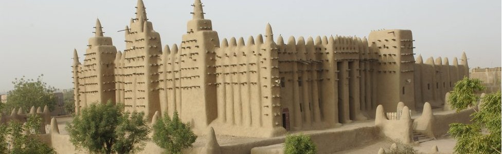 The Great Mosque of Djenne in Mali