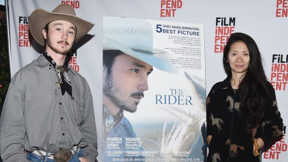 Presentación de The Rider.