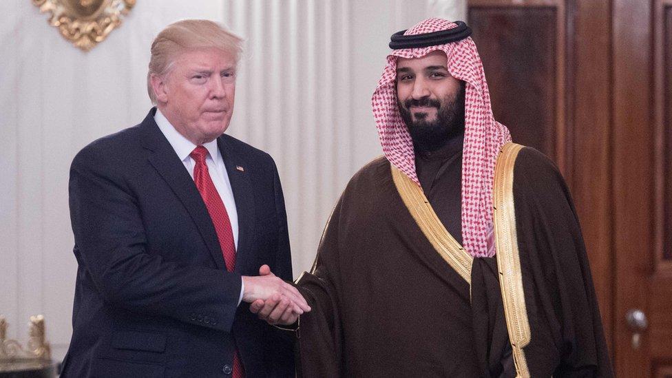 Mohammed bin Salman, trump