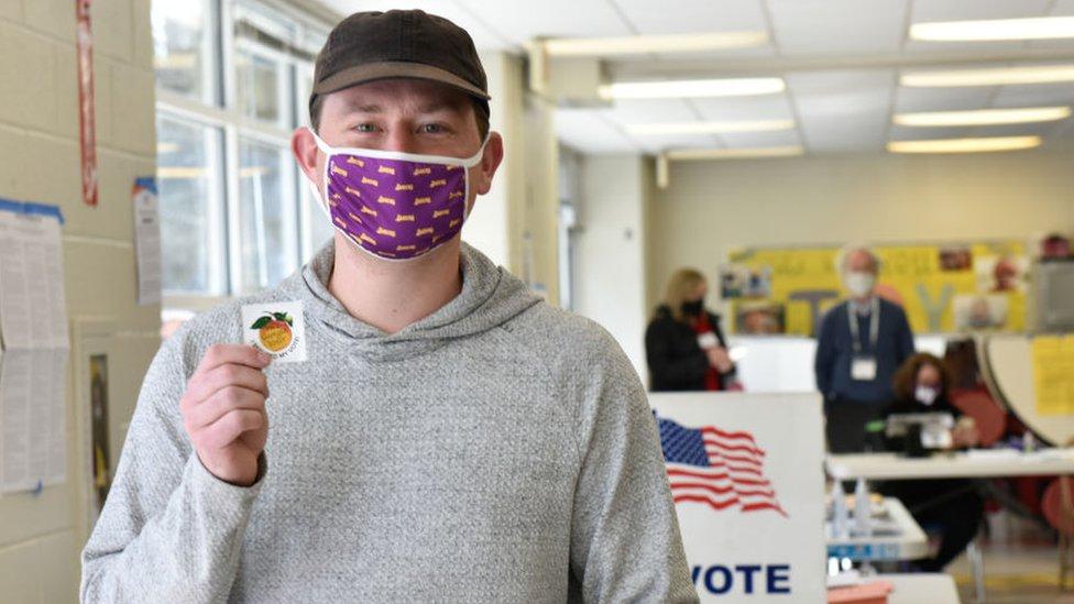 votante en Georgia