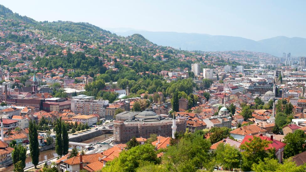 Bosnian capital Sarajevo, 2018