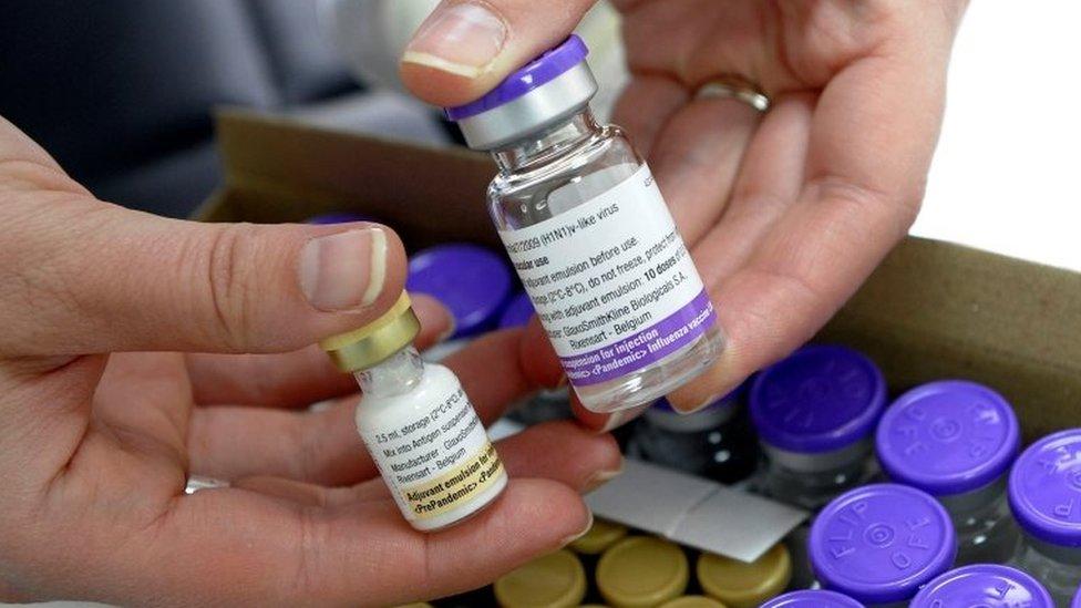 La vacuna Pandemrix y su adjuvante